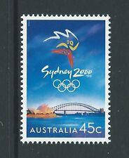 Australie 1999 JEUX OLYMPIQUES 1st édition non montés excellent état, MNH