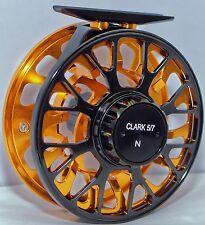 CLARK VIS-N 5/6/7 SUPER LARGE ARBOR, CNC Machined BAR STOCK, WATERPROOF FLY REEL