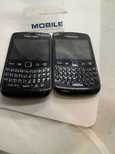 2 X Faulty BlackBerry Curve 9360 - Black Smartphone