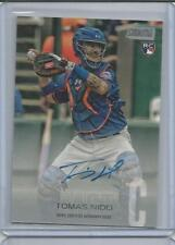 TOMAS NIDO rc Auto 2018 St. Club Mets On Card Autograph