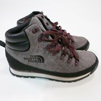 $130 North Face Men's Back to Berkeley  Leather Size 9 Fig/Black NEW