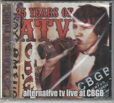25 Years Of ATV Factory Sealed BRAND NEW CD Free 1st Class UK P&P