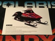 🏁 98 POLARIS INDY XCR 440 Snowmobile Poster   vintage sled XCR440 Red Rocket
