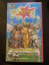 The Fairies - Farmyard Magic (VHS, 2000) PAL