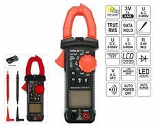Digital Stromzange Multimeter Amperemeter Zangenmessgerät Strommesser 600A