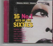 (FX364) 16 No.1 Hits Of The Sixties - 2000 CD