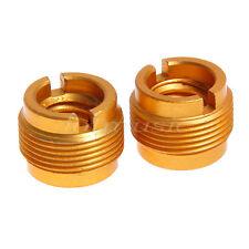 2Pcs Brass Mic Audio Stand Head 3/8' to 5/8'Tripod/Monopod Convert Screw Adapter