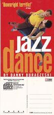 JAZZ DANCE BY DANNY BURACZESKI UNUSED ADVERTISING COLOUR POSTCARD