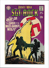 """OUR ARMY AT WAR #199  [1968 VG-FN]  """"THE CURSE OF THE NAZI GHOST WOLF?"""""""