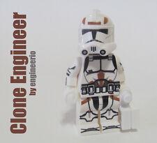 LEGO Custom -- Clone Engineer -- Star Wars Clone Trooper Minifigure rex gree fox