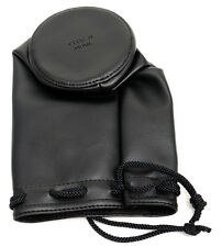 Mamiya RB/RZ 67 Soft Leather lens case for 180 250 350 lens -- objetivamente bolso