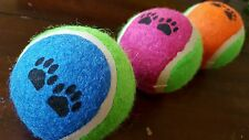 Pet dog cat toy tennis balls ( 3 PC set  ) regular size catch throw play toy NEW