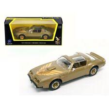 1979 Pontiac Firebird Trans Am Gold 1/43 Diecast Model Car by Road Signature