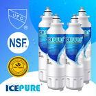 4 Pack Fit LG LT800P Kenmore 9490 ADQ73613401 Refrigerator Water Filter Icepure photo