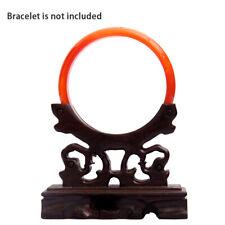 Jade Bracelet Display Standholder Wood Jewelry Hanger Rack Home Decoration