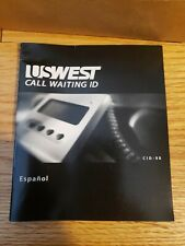 US West call waiting ID vintage phone device new rare