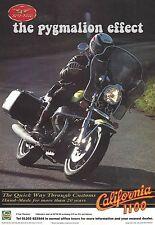 Moto Guzzi California 1100 - Original 1996 Magazine Single Page Vintage Advert