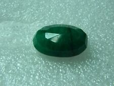 Oval Translucent Loose Natural Emeralds