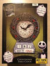 Disney Nightmare Before Christmas Countdown Halloween 🎃 Christmas 🎄 Calendar