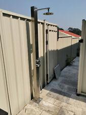 Wall mount 316 Marine Grade Stainless Steel handheld Outdoor shower Pool Shower