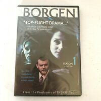 Borgen: Season 1 (DVD, 2013, 4-Disc Set) New And Sealed