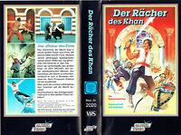 (VHS) Der Rächer des Khan - Cüneyt Arkin - (Italien/Türkei, 1976)