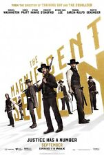 The Magnificent Seven (2016) Original 27 X 40 Theatrical Movie Poster