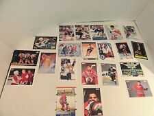COLLECTION 21 DIFFERENT - ERIC LINDROS - HOCKEY CARDS NM/M  EC ( ALL BRANDS )