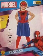 The Amazing Spider-Man Spider-Girl Costume Size Medium 8-10 NWT 881726 Rubies