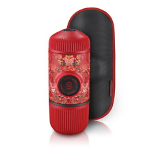 Wacaco Nanopresso  Espresso Maker Mini Travel Coffee Maker - Red Tattoo Pixie