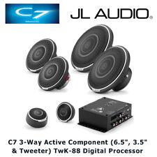 JL Audio C7 3-Way Active Component Speaker Set & TwK-88 Digital Process Package