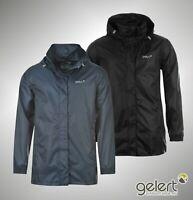 Mens Gelert Full Zip Waterproof Packaway Jacket Sizes S M L XL XXL XXXL