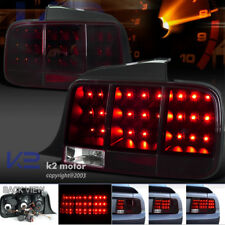 05-09 Mustang LED Sequential Turn Signal Tail Light Brake Lamp Red/ Smoke