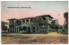 NEEDLES CALIFORNIA Recreation Hall PC Postcard SAN BERNARDINO COUNTY CALI CA Co