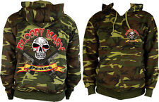 Bloody Mary Pull Over Camo Hoodie