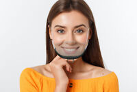 10 Gesichtsvisier Mund Nase Schutzvisier Gesichtsschutz Visier Shield SCHWARZ