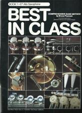 Best In Class Eb Alto Saxophone Comprehensive Band Method E-Flat Sax Instruction