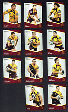 2014  BRISBANE BRONCOS  TRADERS  RUGBY LEAGUE CARDS