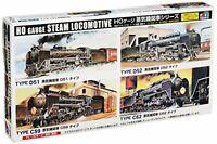 HO type SL (steam locomotive) free Type Series C62 Plastic Model Kit F/S wTrack#