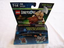 Lego 71220 Gimli and Axe Chariot Lord of the Rings Dimensions Fun Pack MISB New