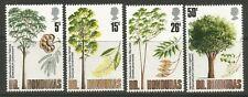 STAMPS-BRITISH HONDURAS. 1971. Trees (3rd Series) Set. SG: 315/18. MNH