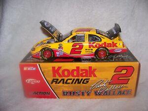 2004 RUSTY WALLACE 1/24 Action #2 Kodak Miller Lite Dodge Intrepid 1 of 4,836