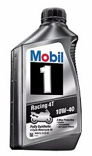 Mobil Racing 4t 10W-40 Racing Motor Oil 1 Qt X 6 (Case of 6)