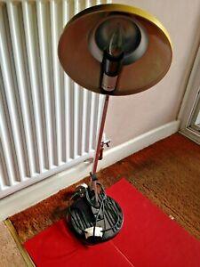 RARE Vintage Anglepoise Lighting Ltd London WL 2 Lamp - Yellow Shade
