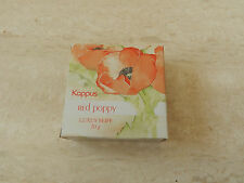 Kappus Red Poppy Luxus Seife 20g Alt und Selten
