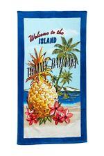 Tommy Bahama Beach Towel Kokomo Island Blue Beach Towel Hawaii NEW