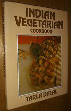 Indian Vegetarian Cookbook by Tarla Dalal Illustrated 1984