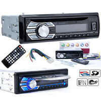 Car Radio Stereo Head Unit CD DVD Player MP3 USB SD AUX-IN FM In-Dash