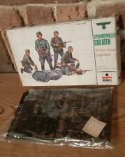 Esci WW2 German Assault Engineers Plastic Model Soldiers Made in Italy