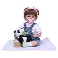 Lifelike Doll 16inch Newborn Doll Vinyl Kids Playmate Xmas/Birthday Gifts